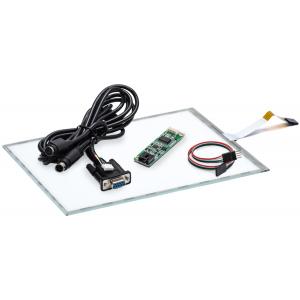 """12.1"""" Сенсорный резистивный экран W4R (5-проводной),комплект c контроллером RS232 W5R"""