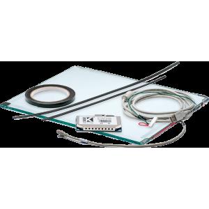 """7"""" Сенсорный акустический широкоформатный экран, 4 мм, D-серия, комплект (контроллер USB, провод)"""