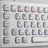 Металлическая антивандальная встраиваемая клавиатура с трекболом, Fn, USB, Ctrl